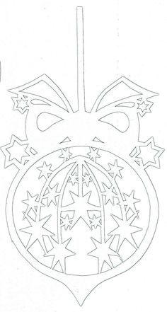 Одноклассники Christmas Stencils, Christmas Paper, Christmas Angels, Christmas Crafts, Christmas Ornaments, Homemade Christmas Decorations, Decorating With Christmas Lights, Kirigami, Origami Paper Art