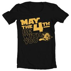 """Men's Star Wars """"May the 4th"""" Tee   redditgifts"""