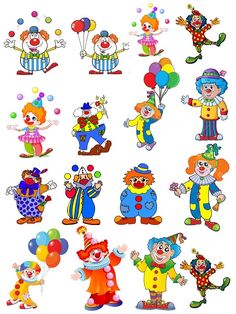 Art Corner, Kids Corner, Image Cirque, Circus Crafts, Diy And Crafts, Crafts For Kids, Anniversaire Harry Potter, Clown Faces, Fancy Cookies