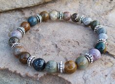 Hey, I found this really awesome Etsy listing at https://www.etsy.com/listing/204865475/stretch-bracelet-ocean-jasper-gemstones