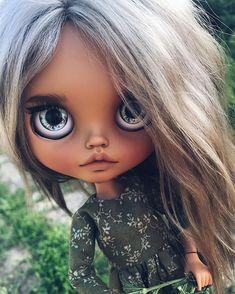 Doll Clothes Barbie, Doll Toys, Baby Dolls, Pretty Dolls, Beautiful Dolls, Ooak Dolls, Blythe Dolls, Anime Dolls, Doll Repaint
