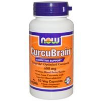 CurcuBrain, Cognitive Support, 400 mg, 50 Veggie Caps - SuperFoodsNZ Now Vitamins, Vitamins For Energy, Best Fat Burning Pills, Fat Burning Drinks, Natural Supplements For Depression, Herbal Remedies For Anxiety, Curcumin Extract, Best Herbal Tea, Amino Acid Supplements