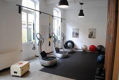 Fitnessstudio Köln, Einrichtung, Interior, Industrial chic, Loft, Power Plate