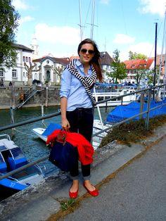 Seeperlen: Outfit: Casual Maritim