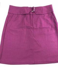 M/&S Per Una week-end tailles 12 14 rose multi print boho crinkle jupe bnwt