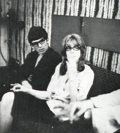 George and Jane Asher photo by Paul taken in 1963 rare shot