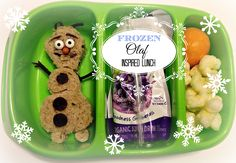 Olaf-Inspired Lunch, bento box