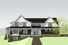 modern country home design - the Willowbrook Country House Plan  LOVE this floor plan