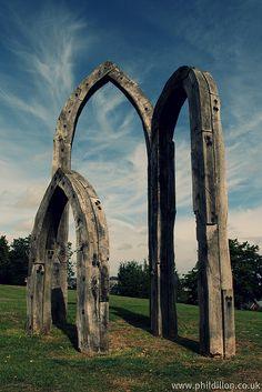 Write a local legend about the Saxon Arches. Photograph it during the day and in the dark (try light painting), and use Picnik to make the photos more spooky.