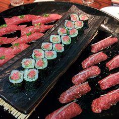 「おにくにくにく肉三昧。@炭火焼肉なかはら  Yakiniku Nakahara http://sumibiyakinikunakahara.com/
