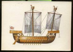 Norman warship 1068 AD - Used most likely in the mediterranean in the invasion of Italy