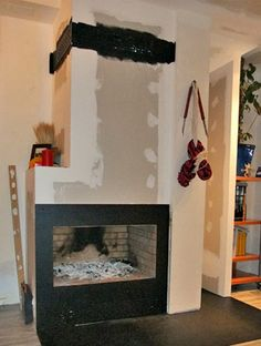 Llar de foc on pinterest barbacoa fireplaces and php for Como hacer una chimenea falsa