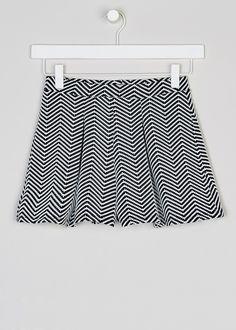 Girls Candy Couture Jacquard Short (9-16yrs) - Matalan