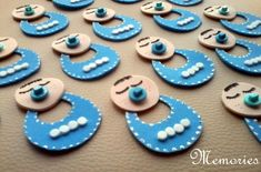 Distintivo para baby shower baby boy