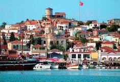 In Ayvalik guide you can find the history, natural beauties and places to see this region. Ayvalik guide is prepared for you with the picture. Holiday Destinations, Travel Destinations, Wonderful Places, Beautiful Places, Ancient City, Marmaris Turkey, Turkish Architecture, Visit Turkey, Turkey Photos
