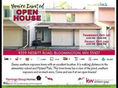 You're Invited - Open House at 9359 Nesbitt Road!
