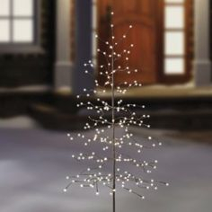 Buy 6-Foot LED Lighted Tree from Bed Bath & Beyond