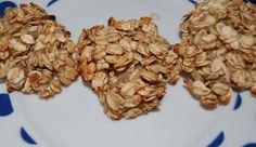 kilkuminutowe ciasteczka bananowo - owsiane