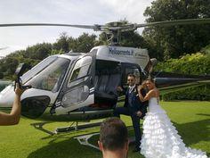 Un Elicottero per il vostro Matrimonio!!!