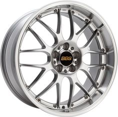 BBS RS-GT forged Aluminum 2-piece wheels with Titanium fastening hardware