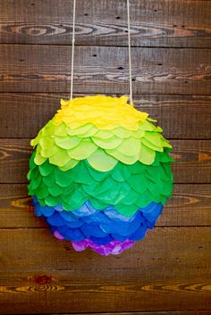 DIY Pinatas Just In Time For Cinco De Mayo #refinery29  http://www.refinery29.com/diy-pinatas#slide-43  All done! Now, go bash it in.Photographed by Guang Xu