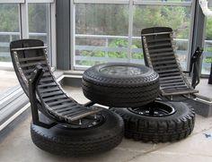 Las 21 mejores ideas para reciclar neumáticosListao | Listao