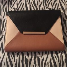 Clutch bag. Worn a couple times, bag is good as new. Express Bags Clutches & Wristlets