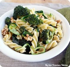 Pasta Recipe : Broccoli Walnut Pasta Pasta Recipe