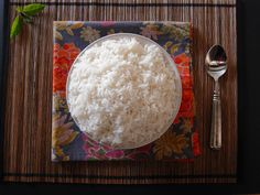 A step by step guide for how to make Instant Pot Jasmine Rice. This recipe gives you perfectly cooked fragrant Jasmine rice every time, quick and easy.