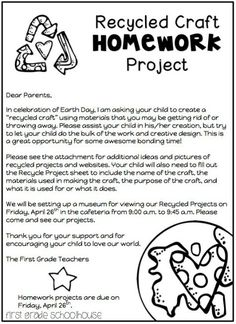 First Grade Schoolhouse: Earth Day Activities