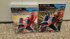 The Amazing Spider-Man PS3 Factory Sealed! Free Shipping!