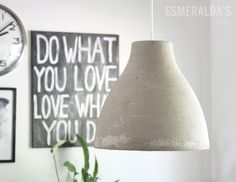 DIY - Ikea Hack Melodi Concrete Lamp