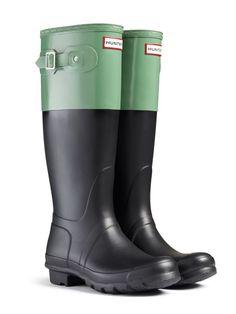 Color Block Rain Boots |