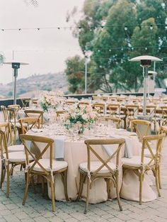 Perfect Blush and Blue Pastel Wedding at Catalina View Gardens Blush Wedding Centerpieces, Wedding Decorations, Table Decorations, Garden Wedding, Dream Wedding, Destination Wedding, Wedding Planning, Outdoor Furniture Sets, Outdoor Decor