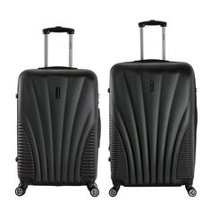 InUSA Chicago 2-piece Lightweight Hardside Spinner Large Luggage ...