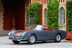 1956 Maserati A6G/54 GT Maintenance of old vehicles: the material for new cogs/casters could be cast polyamide which I (Cast polyamide) can produce