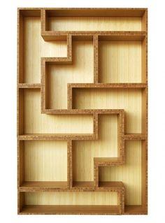 Tatrad Bamboo Shelving Units Inspired By Tetris Ideas