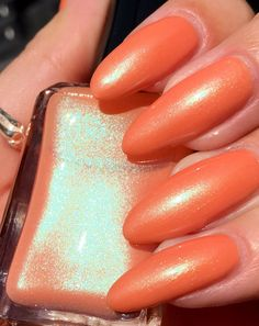 Teaches of Peaches  misc release by ShleeePolish on Etsy