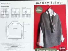 Flatter me Vest, Knitting Pattern, Easy Pattern.  A perfect vest to make for yourself to add personality to any outfit.    Get the pattern at: https://www.etsy.com/your/shops/DebsDevineDesigns/tools/listings/stats:true/220817494