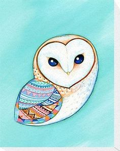 Future tattoo- barn owl