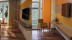 Referenz St. Josef-Hospital Bochum Haus R | Photorealistische Renderqualität: Schon im Planungsstadium den Raum mit 3D-Kinotechnik virtuell erleben