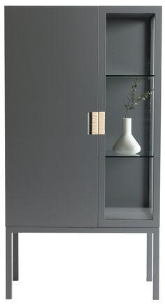 Simple and moder grey cabinet | www.bocadolobo.com #interiordesign #decor #moderncabinets #buffetdecor