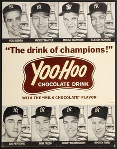 My Boys all loved Yoo-Hoo!