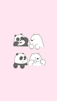 anyone else watched We Bare Bears?? #socute