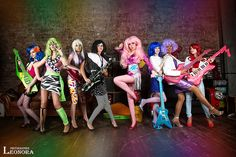 Jem and the Holograms by Usagi-Tsukino-krv Follow us on Twitter http://twitter.com/hotcosplaychick
