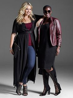 Plus Size Fashion for Women - Plus Size Fall Trends