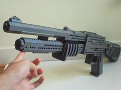 Remington 870 (shell ejecting): A LEGO® creation by A minute ago ... : MOCpages.com