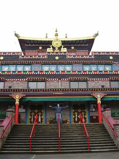 Kagyu Samye Ling was the first Tibetan Buddhist Centre to have been established in the West. located in Eskdalemuir, Scotland. http://www.samyeling.org/