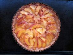 Our Palisade peaches are still around... I'll be making this this weekend.