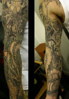 full sleeve tattoos 5